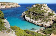 plage Caló des Moro à Majorque