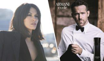 pub Armani Code Absolu 2019 avec Ryan Reynolds et Élodie Yung