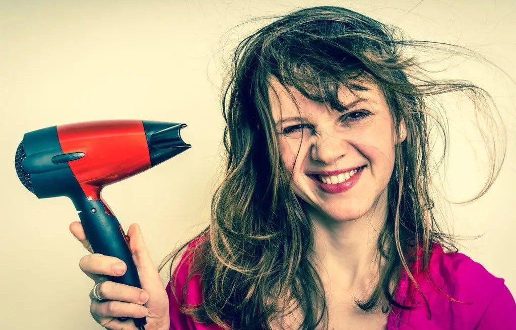 sèche-cheveux ou séchage à l'air libre ?
