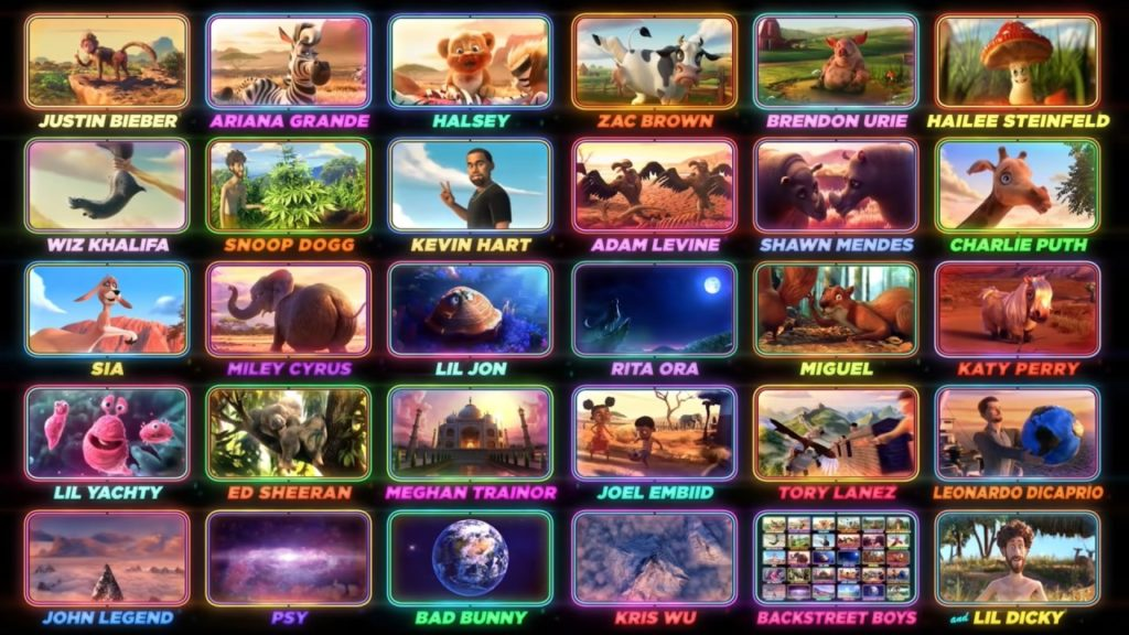 Liste des stars et célébrités qui ont participé au clip'Earth' de Lil Dicky