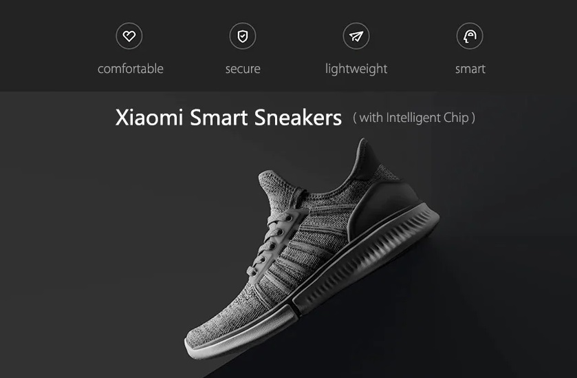 xiaomi mija 2 : smart sneakers avec semelle intelligente
