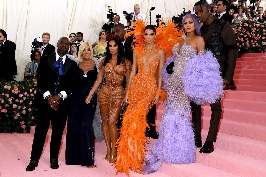 Le clan Kardashian/Jenner au Met Gala 2019