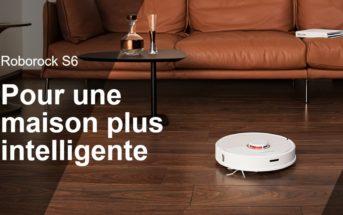 🔥 Code promo Roborock S6 : le nouveau robot aspirateur soldé à 514€