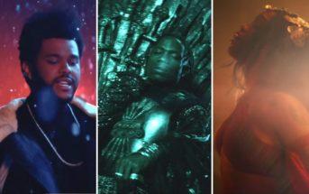 SZA, The Weeknd et Travis Scott en mode 'Game of Thrones' dans le clip 'Power Is Power'
