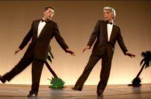 Alain Chabat et Gérard Darmo dansent la Carioca dans La Cité de la Peur