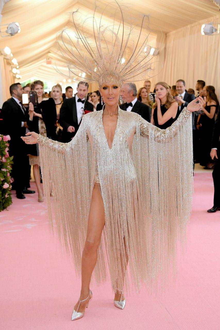 Robe de Céline Dion pour le gala du MET 2019