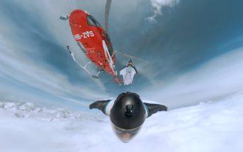 Vidéo de vol en wingsuit : Brendan Weinstein effleure les Alpes Suisses !
