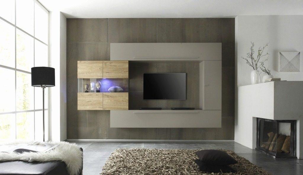 idée déco : meuble télé original avec tv intégrée