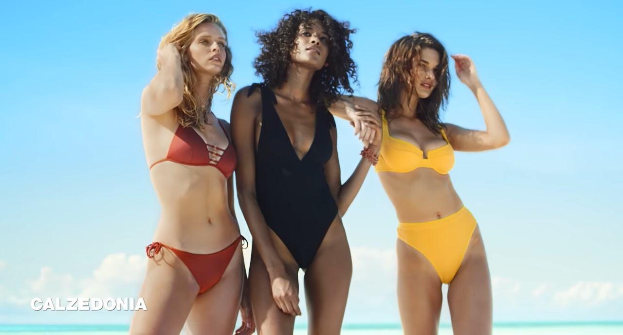 3b64dc7fed Qui sont les mannequins de la pub Calzedonia maillot de bain été 2019 ?