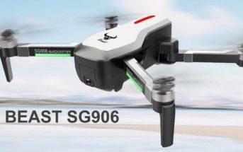 🔥 Code promo : le drone 4K ZLRC Beast SG906 en réduction à 130€
