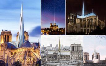 Reconstruction de Notre-Dame : 13 architectes imaginent une cathédrale moderne