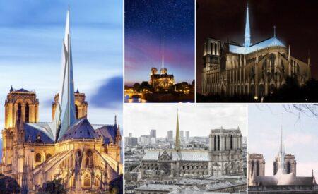 Reconstruction moderne de Notre-Dame de Paris : projets architecturaux et propositions de rénovation