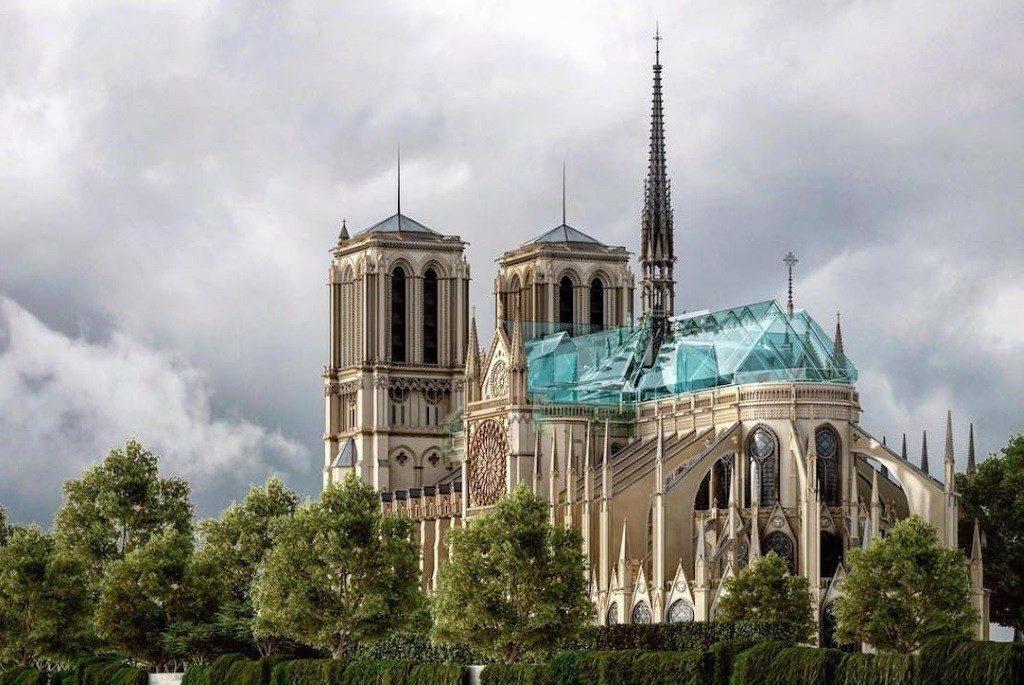 Reconstruction moderne de Notre-Dame de Paris : Alexander Nerovnya