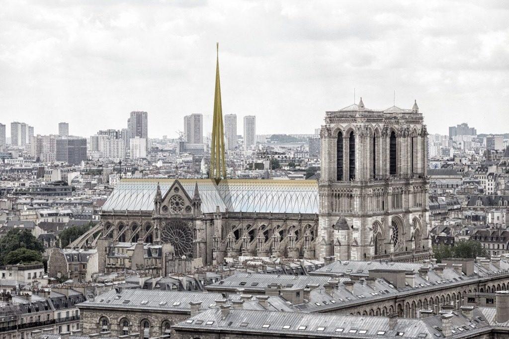 Reconstruction moderne de Notre-Dame de Paris : Godart + Roussel Architectes