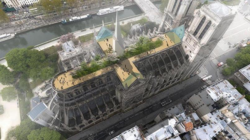 Reconstruction moderne de Notre-Dame de Paris : Marc Carbonare