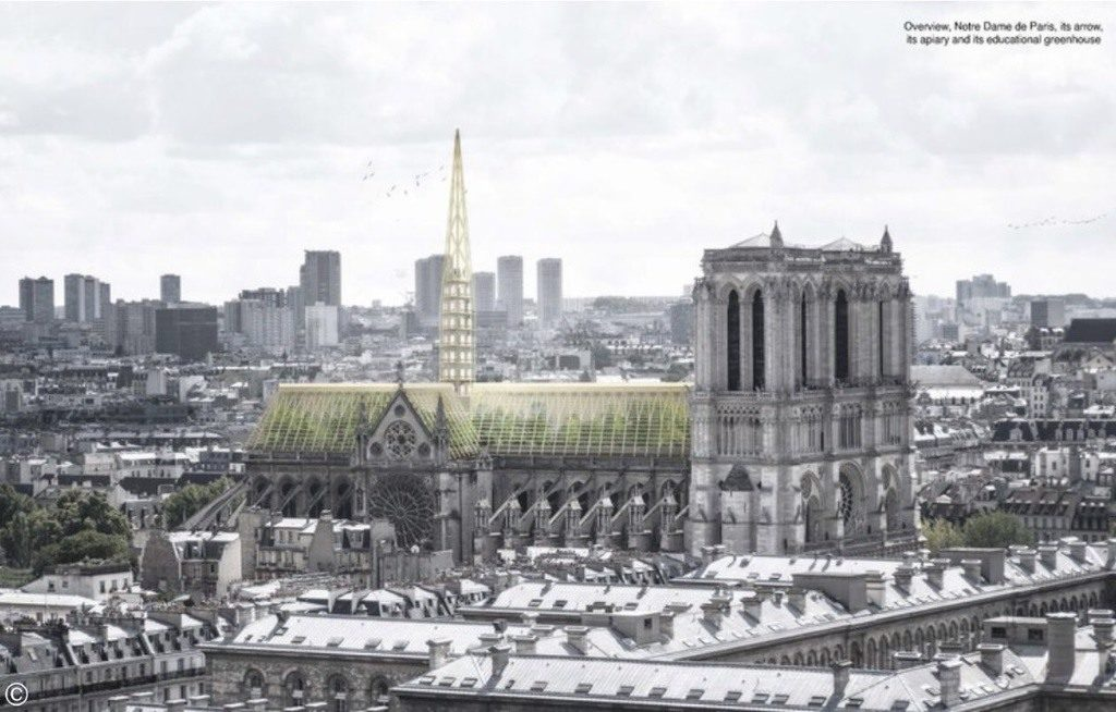 Reconstruction moderne de Notre-Dame de Paris : Nicolas Abdelkader du Studio NAB - 01