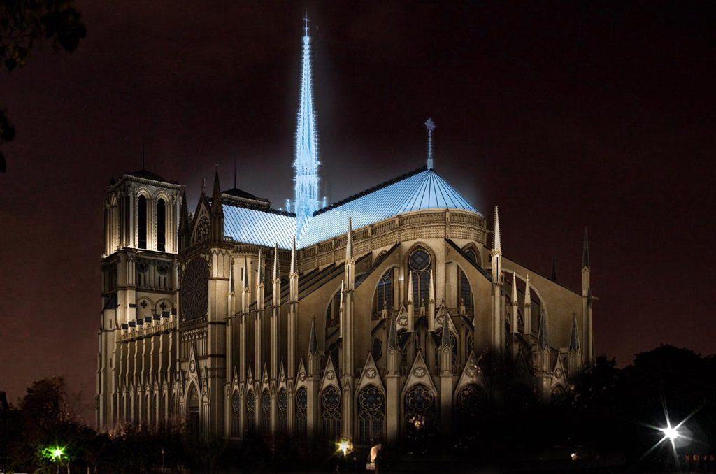 Reconstruction moderne de Notre-Dame de Paris : Studio Fuksas