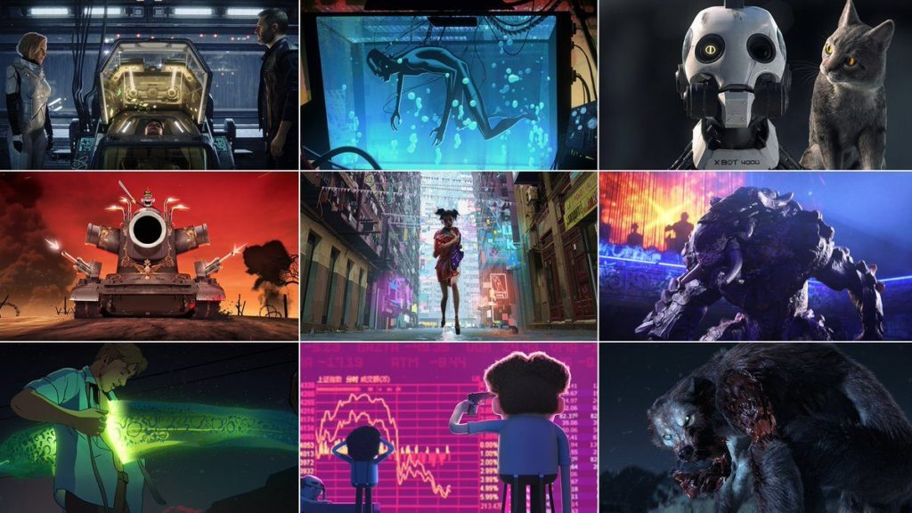 Série d'animation netflix 2019 : Love, Death & Robots