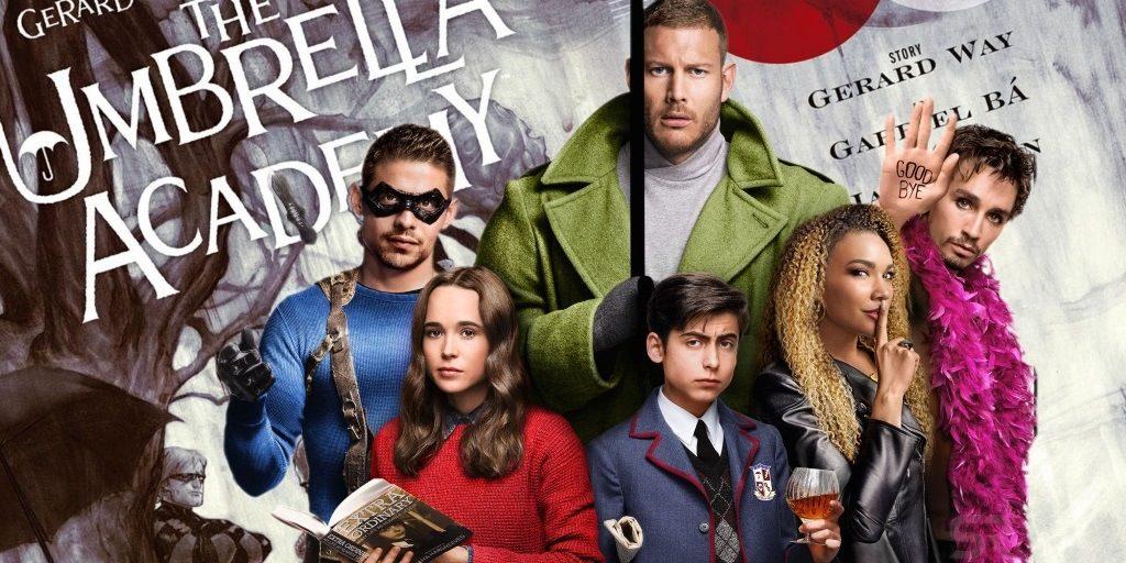 Série Netflix 2019 : Umbrella Academy