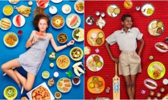 nourriture enfants monde entier