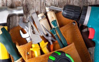 20 outils qu'un bricoleur doit toujours avoir dans sa mallette