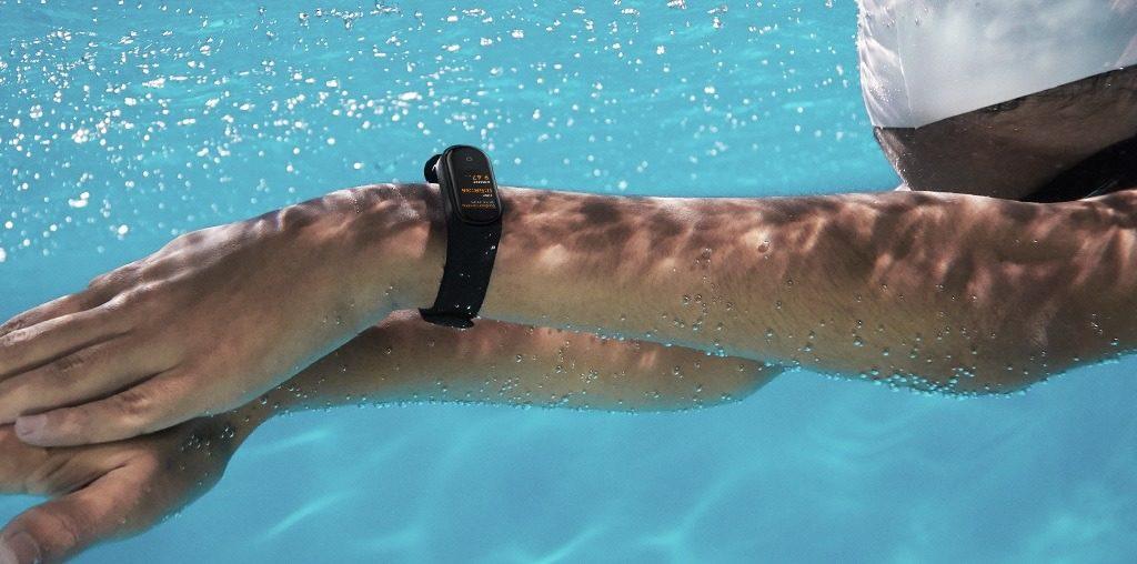 Xiaomi Mi Band 4 : natation