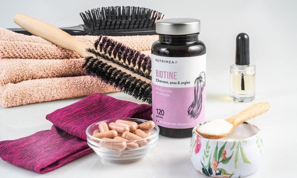 La biotine pour des cheveux plus forts, plus brillants et plus lumineux