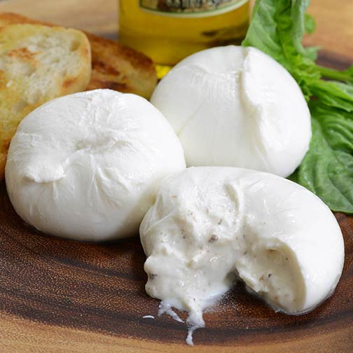 burrata : fromage italien