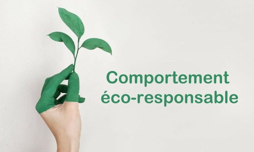 comportement éco-responsable