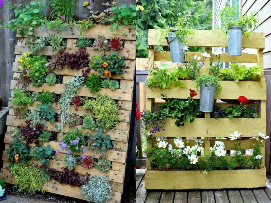 jardinière palette