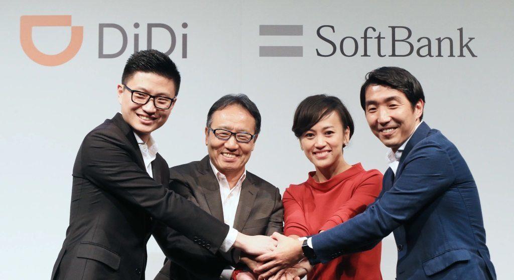 didi softbank, nouvelle de réservation de taxi au Japon et à Tokyo