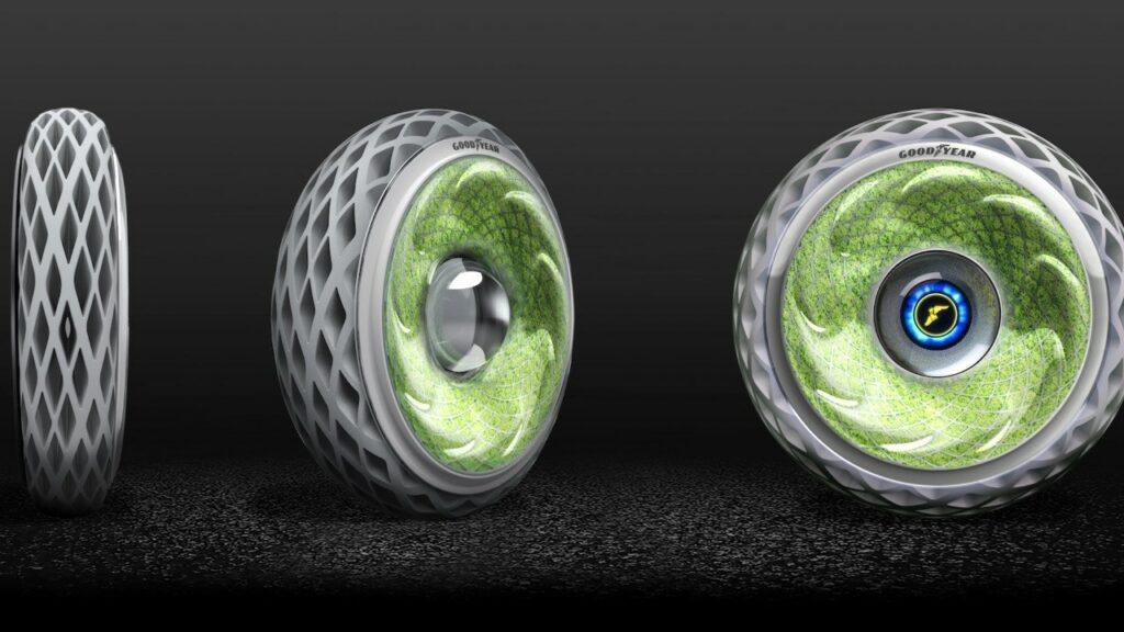goodyear oxygene : un concept de pneu futuriste