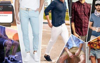 Mode homme été 2019 : comment s'habiller pour un look décontracté ?