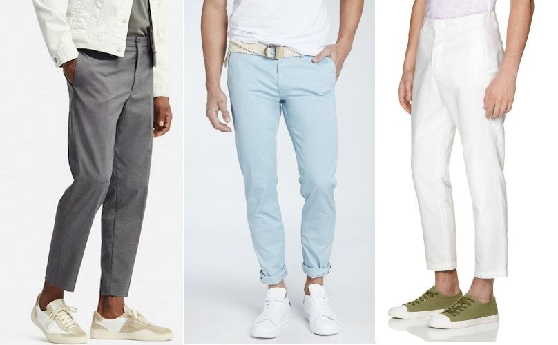 pantalon chino à la mode en été 2019