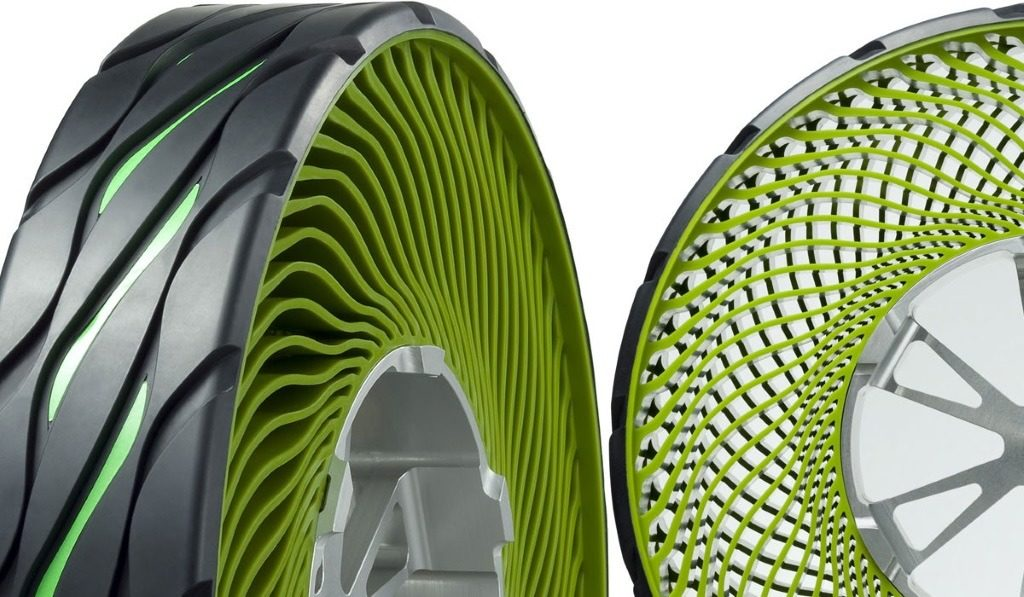 Innovation : Le pneu sans air de Bridgestone