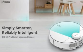 Black Friday : le robot aspirateur 360 S6 à 219€ et S6 Pro à 312€