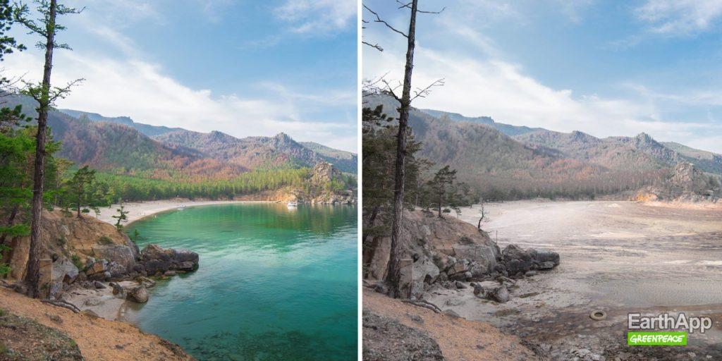 EarthApp : Lac Baïkal