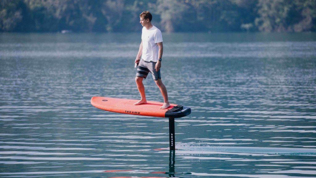 Takuma Efoil : le surf électrique