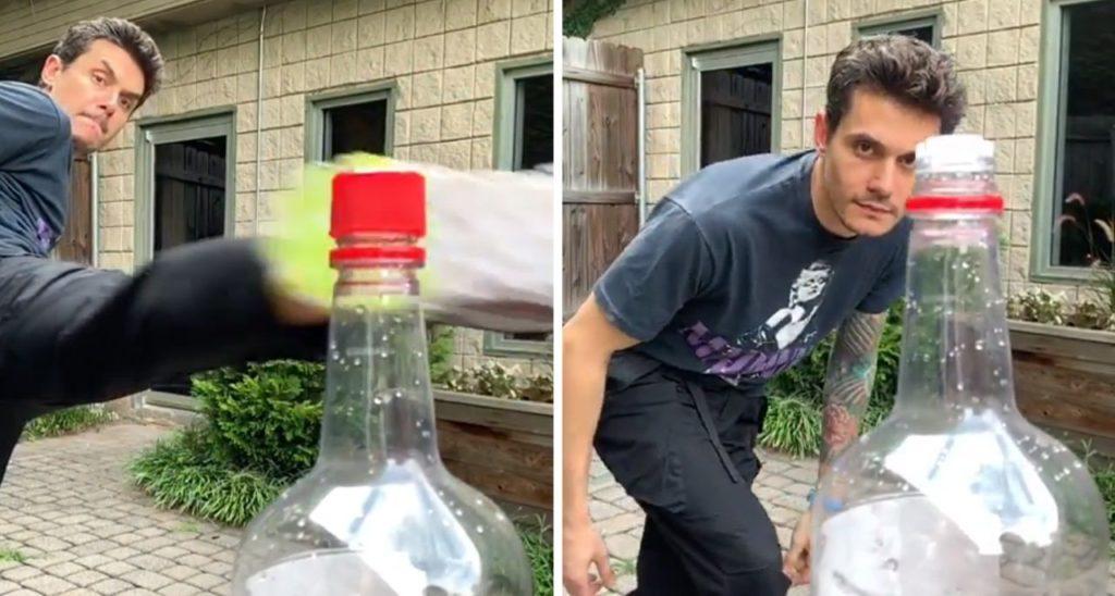 bottle cap challenge réussi