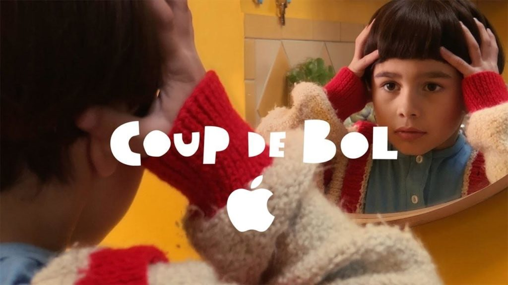 coup de bol : court-métrage apple iphone 2019
