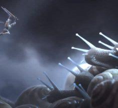Quand des chevaliers affrontent des escargots géants [Animation 3D]