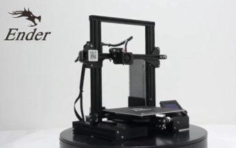 🔥 Promo soldes : l'imprimante 3D Creality Ender 3 à 151€ [entrepôt EU]