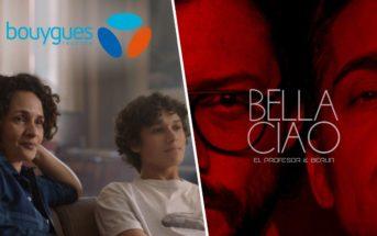 Bella Ciao : musique de la pub Bouygues Telecom et Netflix 2019 [Casa de papel]