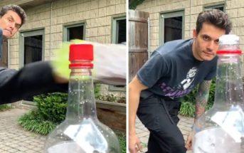 5 astuces pour un Bottle Cap Challenge réussi et sans danger