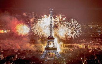 🎆 Vidéo replay : le feu d'artifice du 14 juillet 2019 à la Tour Eiffel Paris