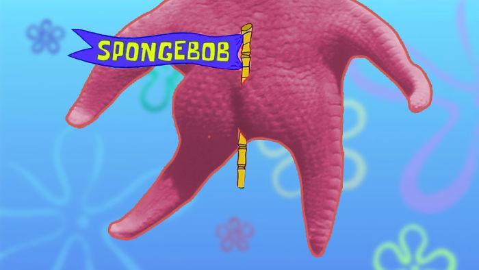 Détournement de l'étoile de mer qui ressemble à Patrick de Bob l'éponge - 00