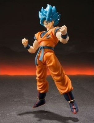 figurine Dragon Ball Super Goku de la gamme S.H. Figuarts de Bandai Tamashii Nations
