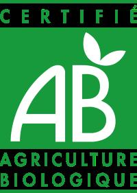 logo AB : certifié agriculture biologique