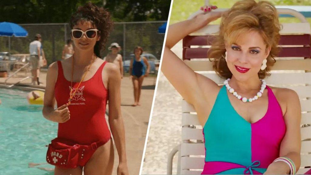 La maillot une pièce valorisé dans la série Stranger Things avec Heather et Karen Wheeler