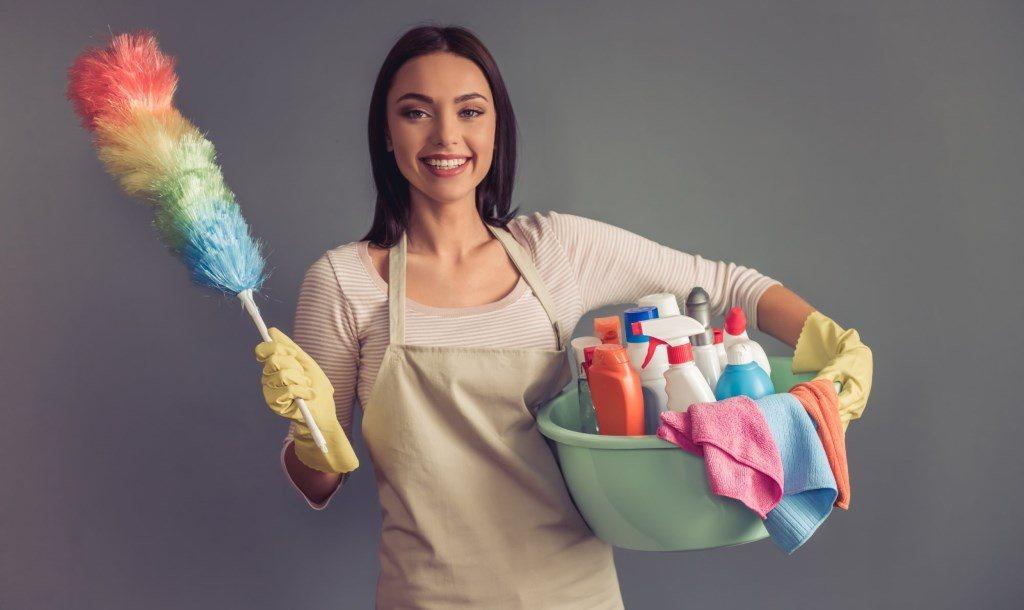maison saine : ménage